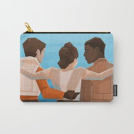 Happy Trio Carry-All Pouch