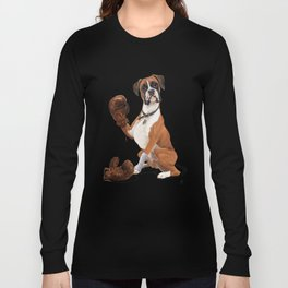 The Boxer (colour) Long Sleeve T-shirt