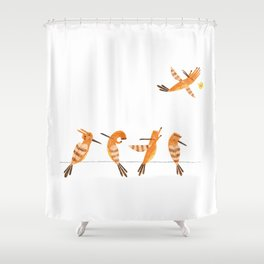 Hi hoopoe! Shower Curtain