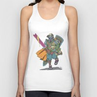 dungeons and dragons Tank Tops featuring Dungeons & Dragons & DOOM by Floating Disc