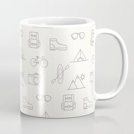 Travel pattern Coffee Mug