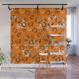Gamers-Orange Wall Mural