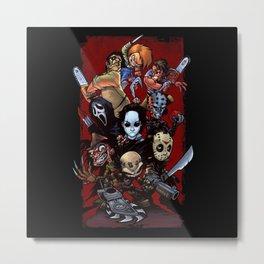 Horror Guice Metal Print