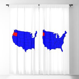 State of Oregon Location Blackout Curtain