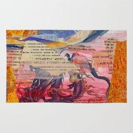 Collage Love - Zhong Long Rug