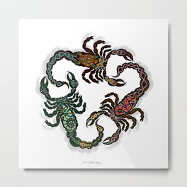 SCORPIONS II Metal Print