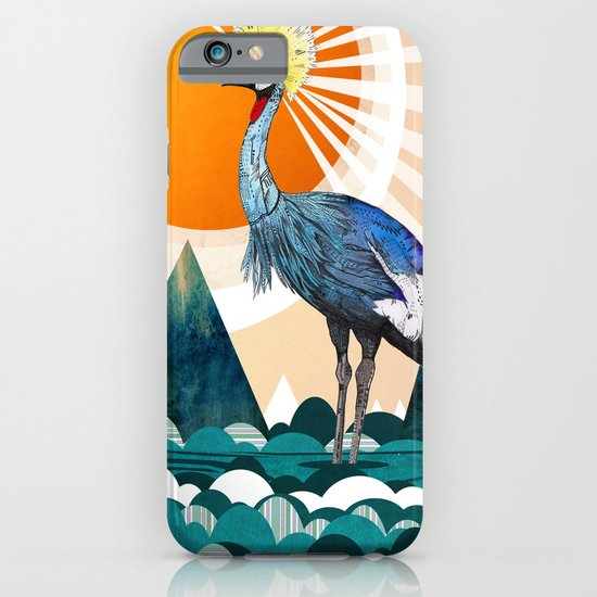 Crowned Crane iPhone & iPod Case