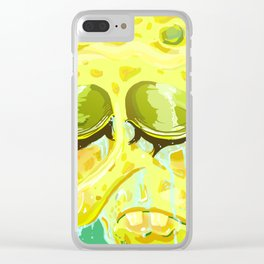 Crying Spongebob Clear iPhone Case