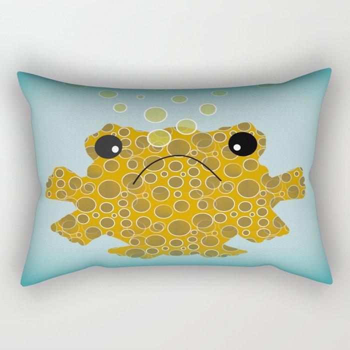 Bubbles The Fish Rectangular Pillow