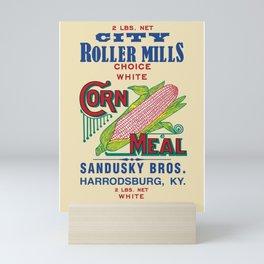 City Roller Mills - Sandusky Bros. - Harrodsburg, Kentucky - 11111 Mini Art Print