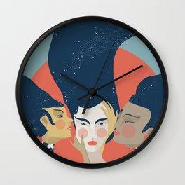 Quiet the Mind Wall Clock