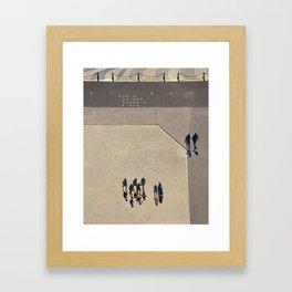 Lisbonne à l'envers Framed Art Print