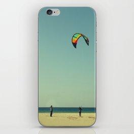 The kite coach iPhone Skin