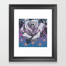 my rose Framed Art Print