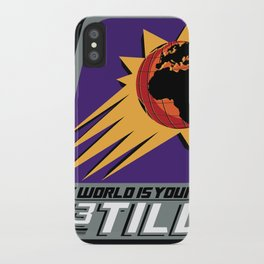 The World is Your's iPhone Case