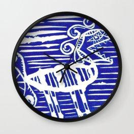 funny monster arghhh Wall Clock