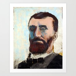 1881 Killed James A. Garfield (Charles Guiteau) Art Print