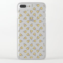Candy (uni)corn horn Clear iPhone Case