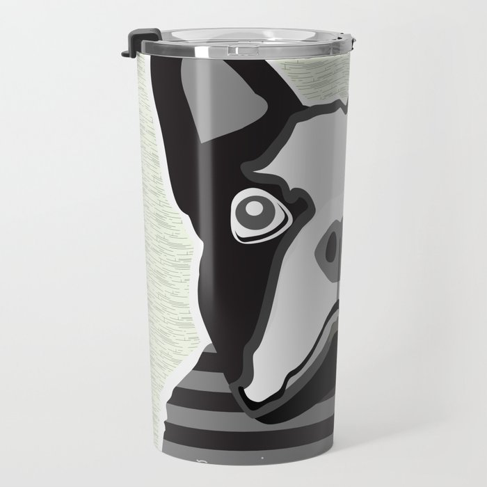 borris the french bulldog Travel Mug