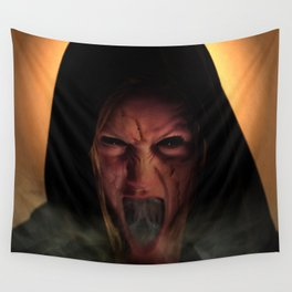 Unholy Mother Wall Tapestry