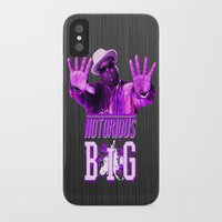 notorious big iPhone & iPod Cases featuring Notorious Big by Gold Blood