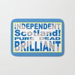 Independent Scotland Pure, Dead, Brilliant Bath Mat