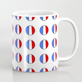 Flag of France 15- France, Français,française, French,romantic,love,gastronomy Coffee Mug