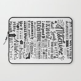 The Machine | Person of Interest Laptop Sleeve