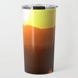 Steamboat Sunrise Travel Mug