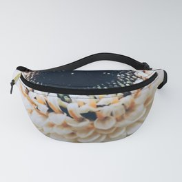 White Germini Close up 1 Fanny Pack
