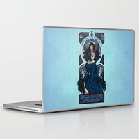 bioshock infinite Laptop & iPad Skins featuring Infinite Nouveau by Miss-Lys