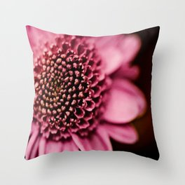 This Floral Image Throw Pillow