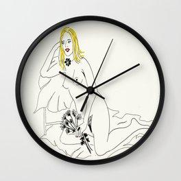 The life model Wall Clock