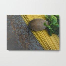 Pasta Italiano Metal Print