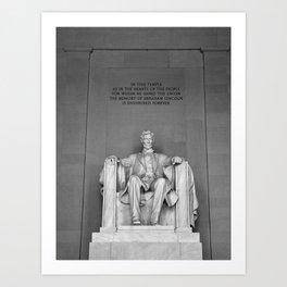 Lincoln Memorial II Art Print