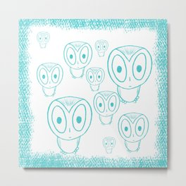 OwlArt Metal Print