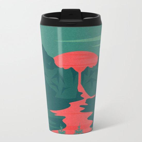 The Red River Metal Travel Mug