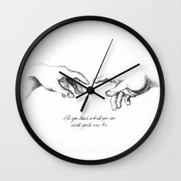 Creation of Adam Wall Clock