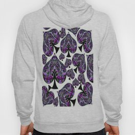 Whiteout Crazy Spades Collage Hoody