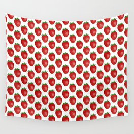 Strawberry Power Wall Tapestry