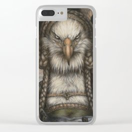 Great Spirit Rising Clear iPhone Case