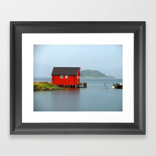 Inderøya , Norway Framed Art Print