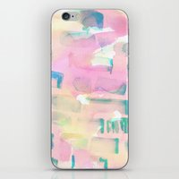 coral iPhone & iPod Skins featuring Coral by Amy Sia