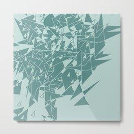 Glass MG Metal Print