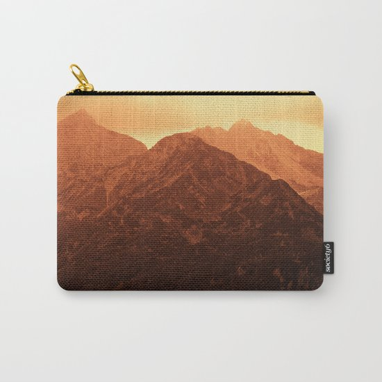Evening in the mountains Carry-All Pouch