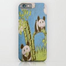 Cute Pandas Slim Case iPhone 6s