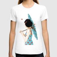 sakura T-shirts featuring Sakura by Luiza Abend