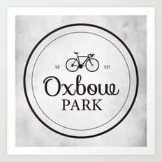 Oxbow Park Art Print