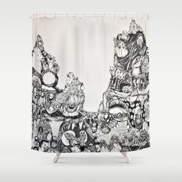 Untitled #3 Shower Curtain