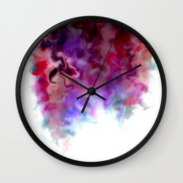 Abstract 36 Color bomb Wall Clock